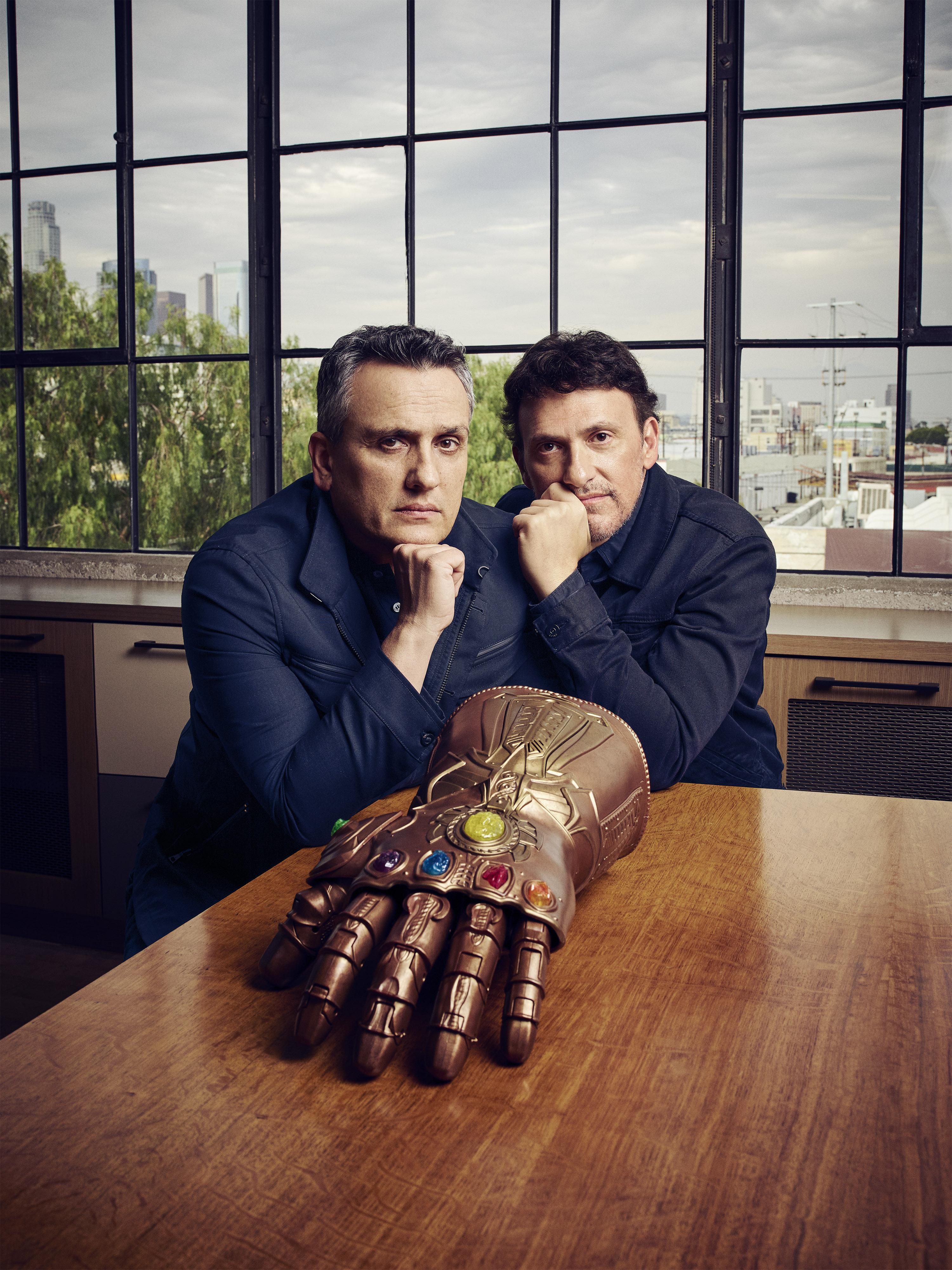 Джо Руссо (слева) иЭнтони Руссо (справа)