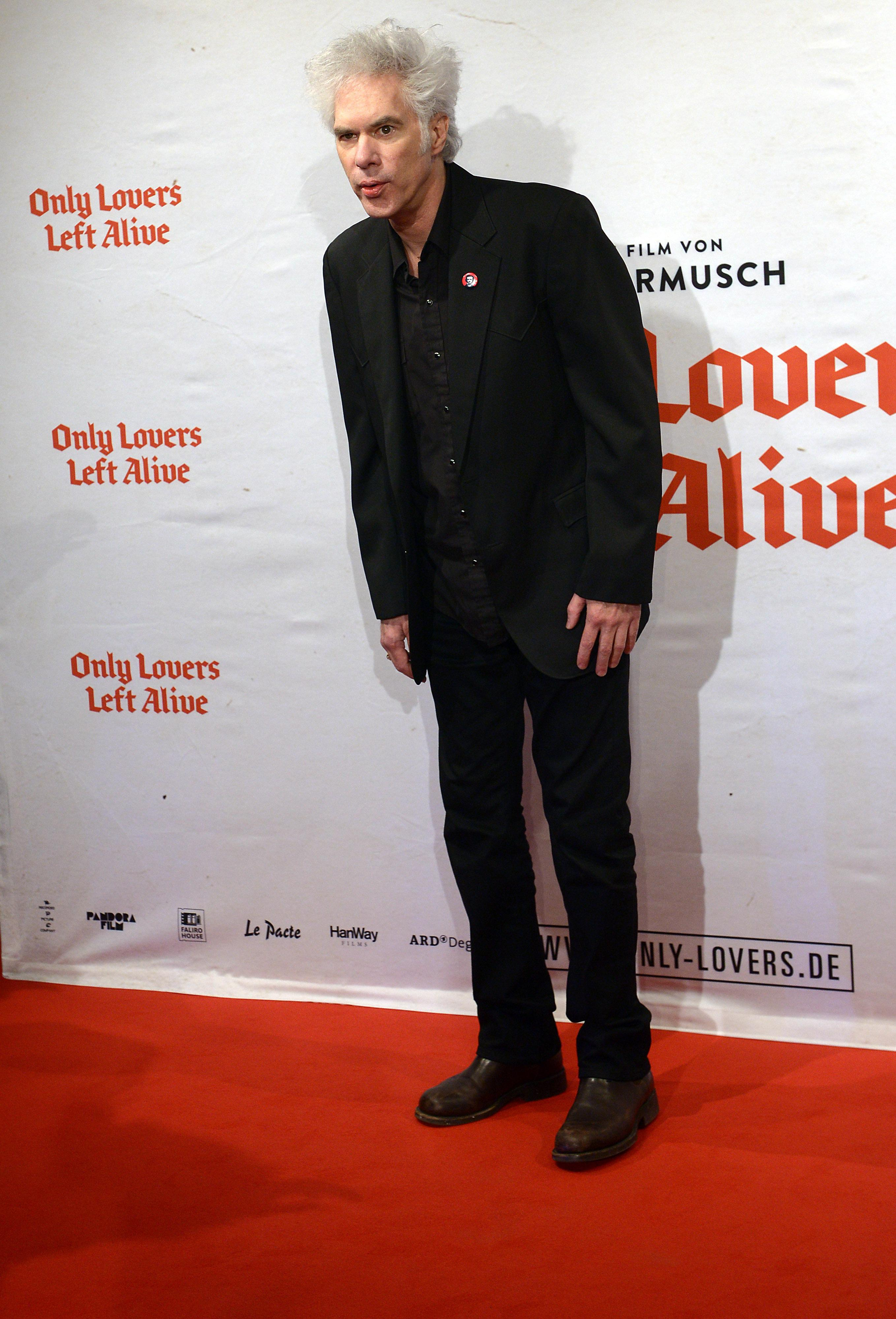 Cologne, Germany. 10th Dec, 2013. Filmmaker Jim Jarmusch Arrives To The Premiere Of The Movie