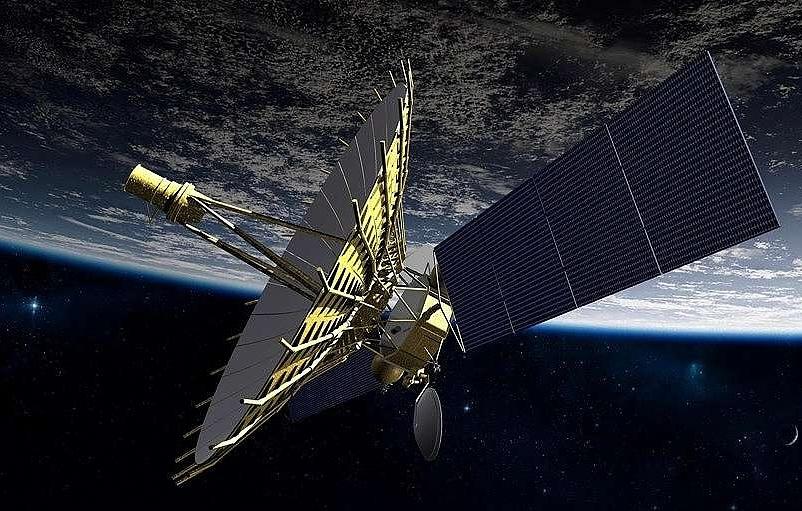 Подпись: Десятиметровый космический компонент суперрадиотелескопа