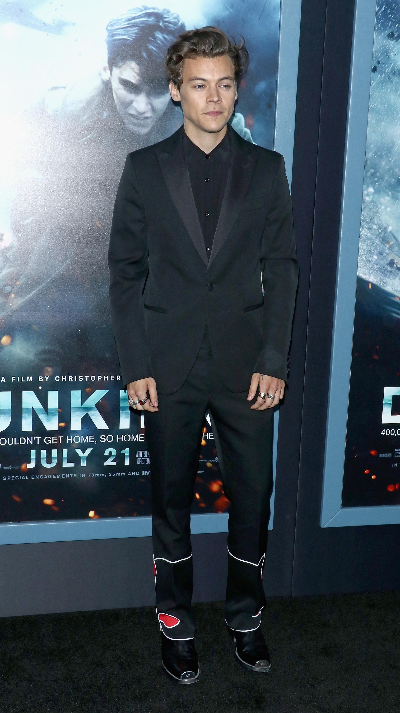 Calvin Klein напремьере фильма «Дюнкерк»