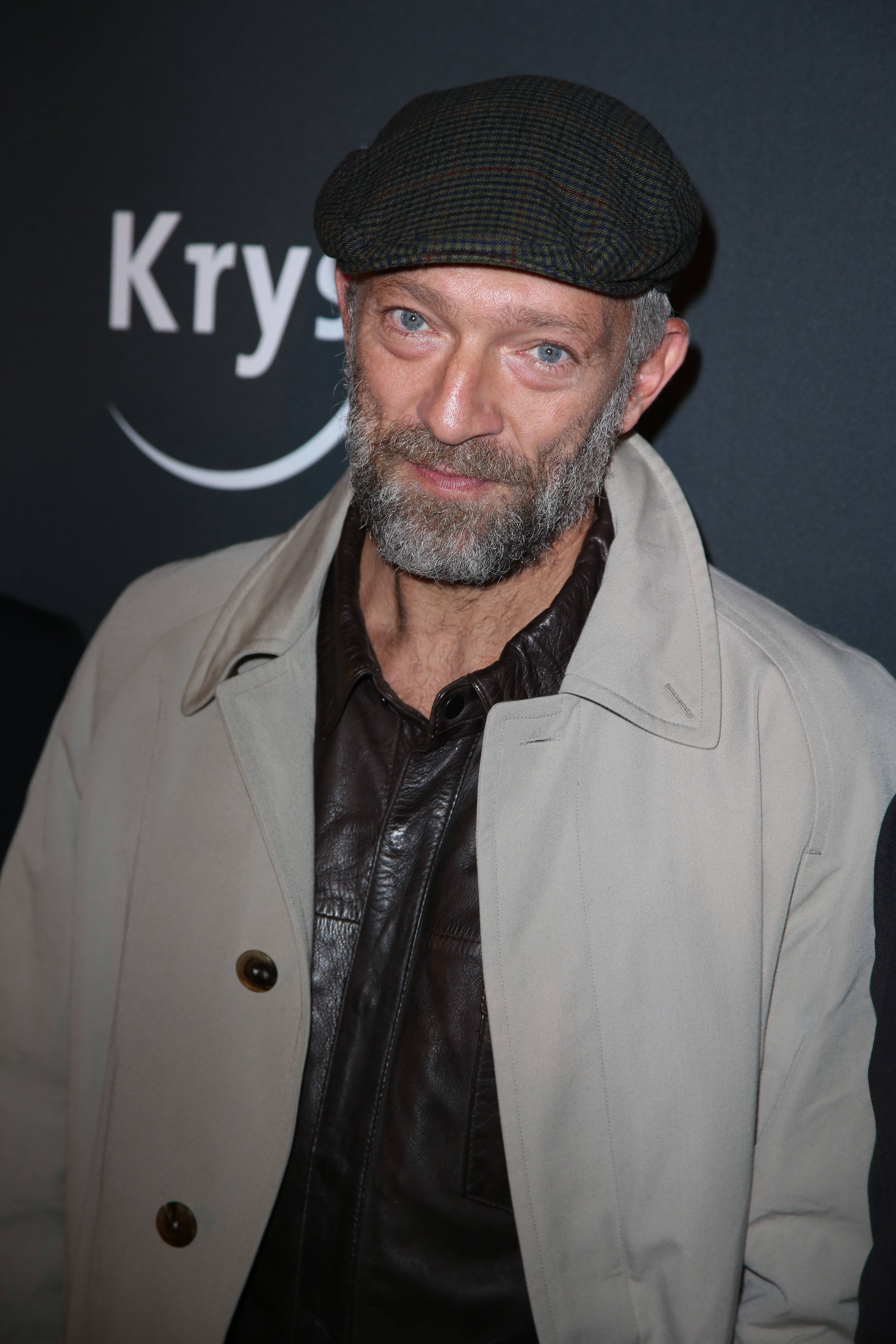 Vincent Cassel Attending Prive Revaux Eyewear By Krys Party Held At Cafe De L'Homme In Paris, On September 27, 2018. Photo By