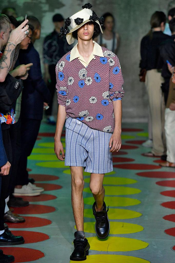 Marni Menswear весна-лето 2020