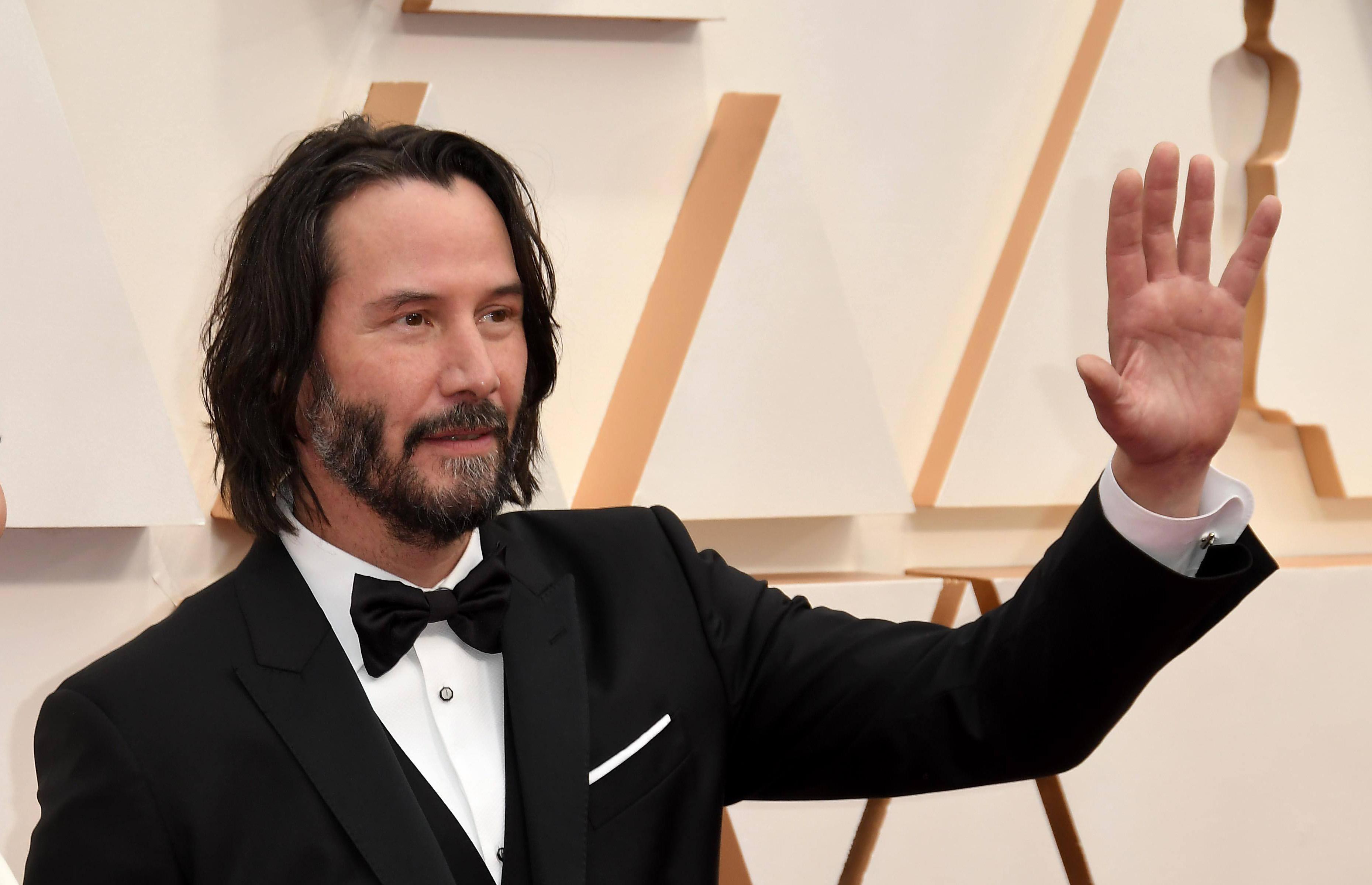 Киану Ривз на «Оскаре», 2020