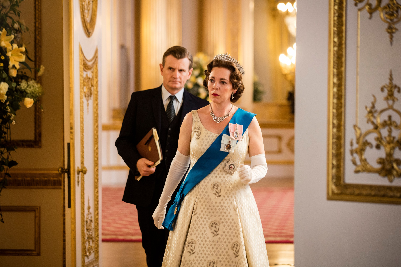 Оливия Колман вроли Елизаветы II втретьем сезоне