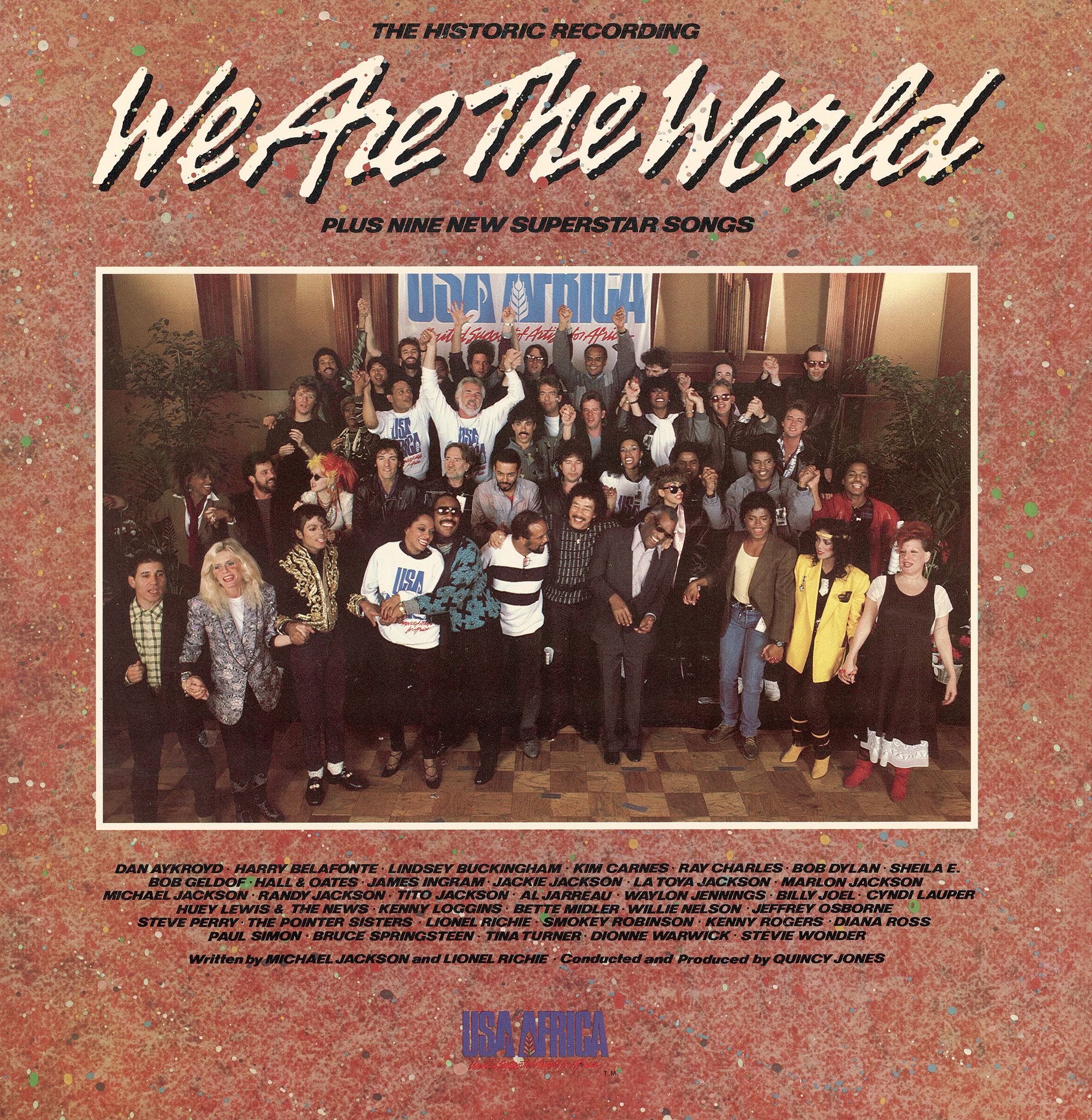Обложка песни We Are the World