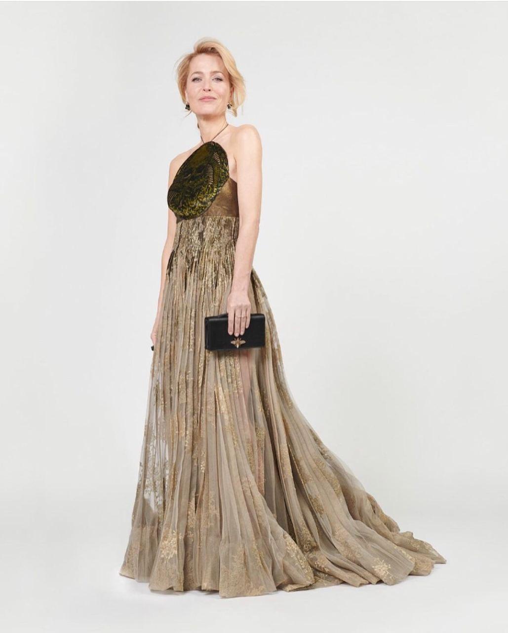 Джиллиан Андерсон вDior Haute Couture