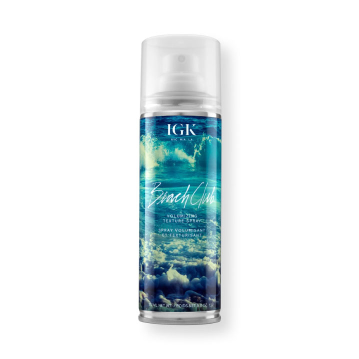 Текстурирующий спрей для эффекта пляжных волос Beach Club, IGK Hair