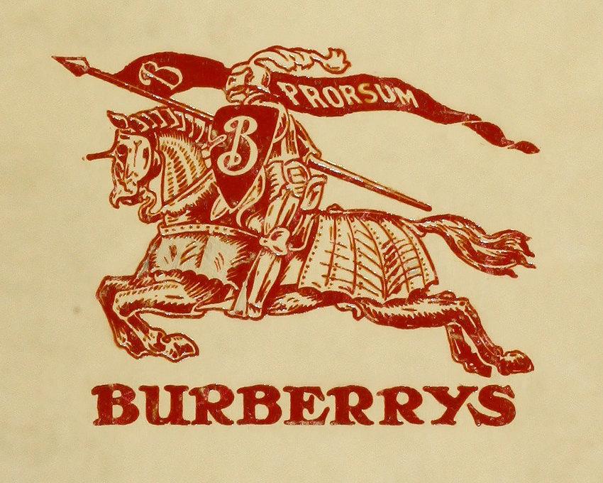 Логотип Burberry образца 1901 года