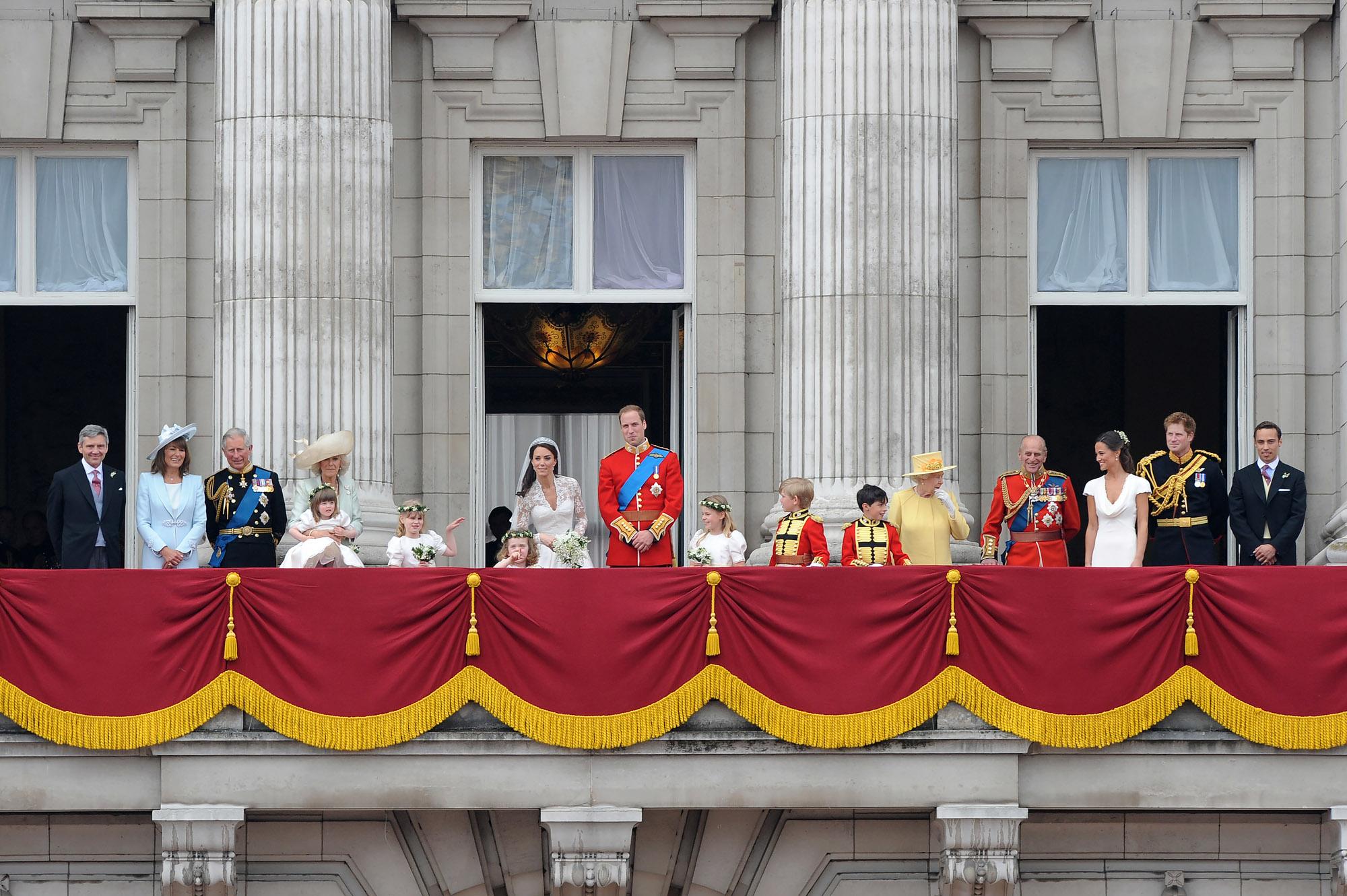 Свадьба принца Уильяма иКейт Миддлтон, Лондон, апрель 2011