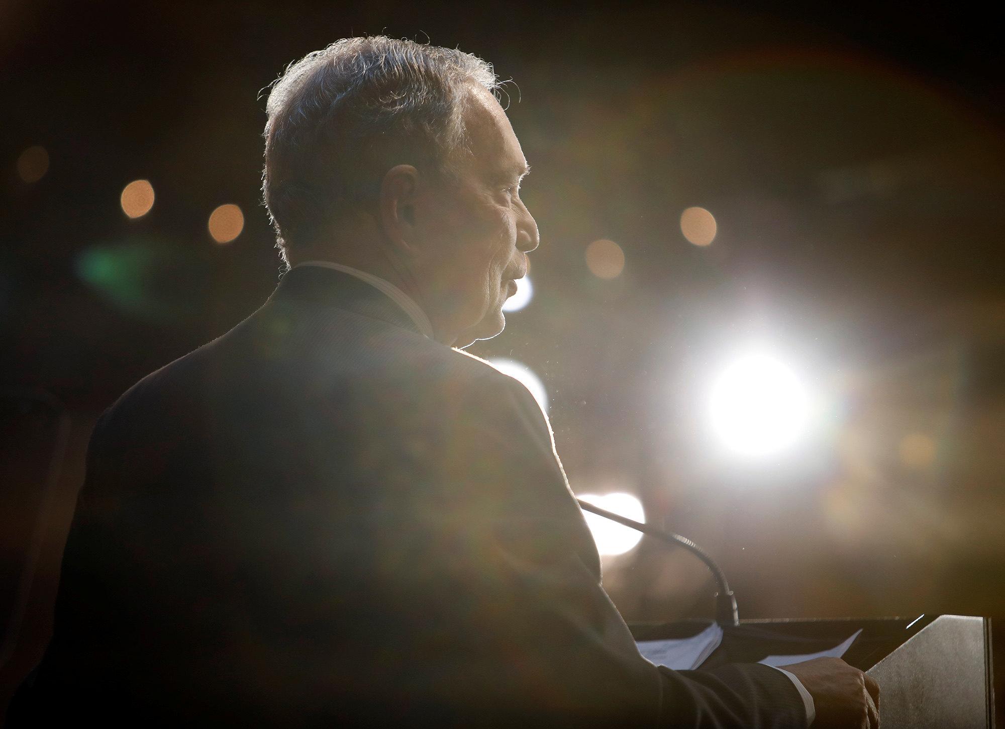 Блумберг выступает передэлекторатом вСеверной Каролине, 13 февраля 2020