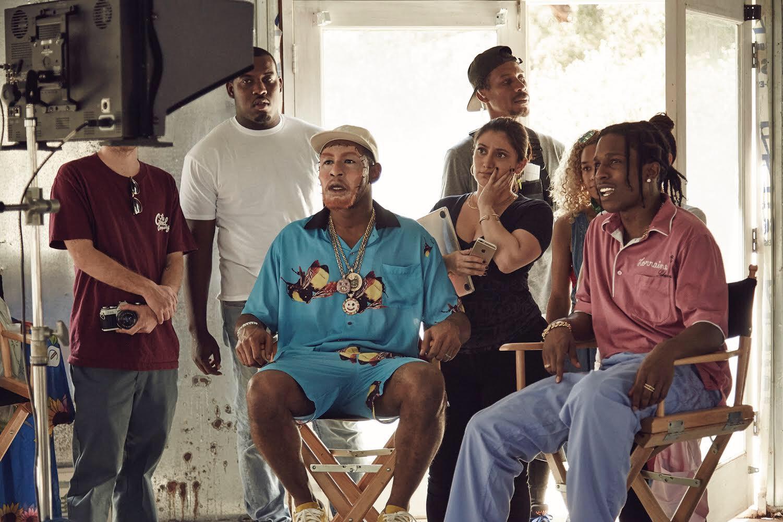 С Tyler, the Creator иA$AP Rocky