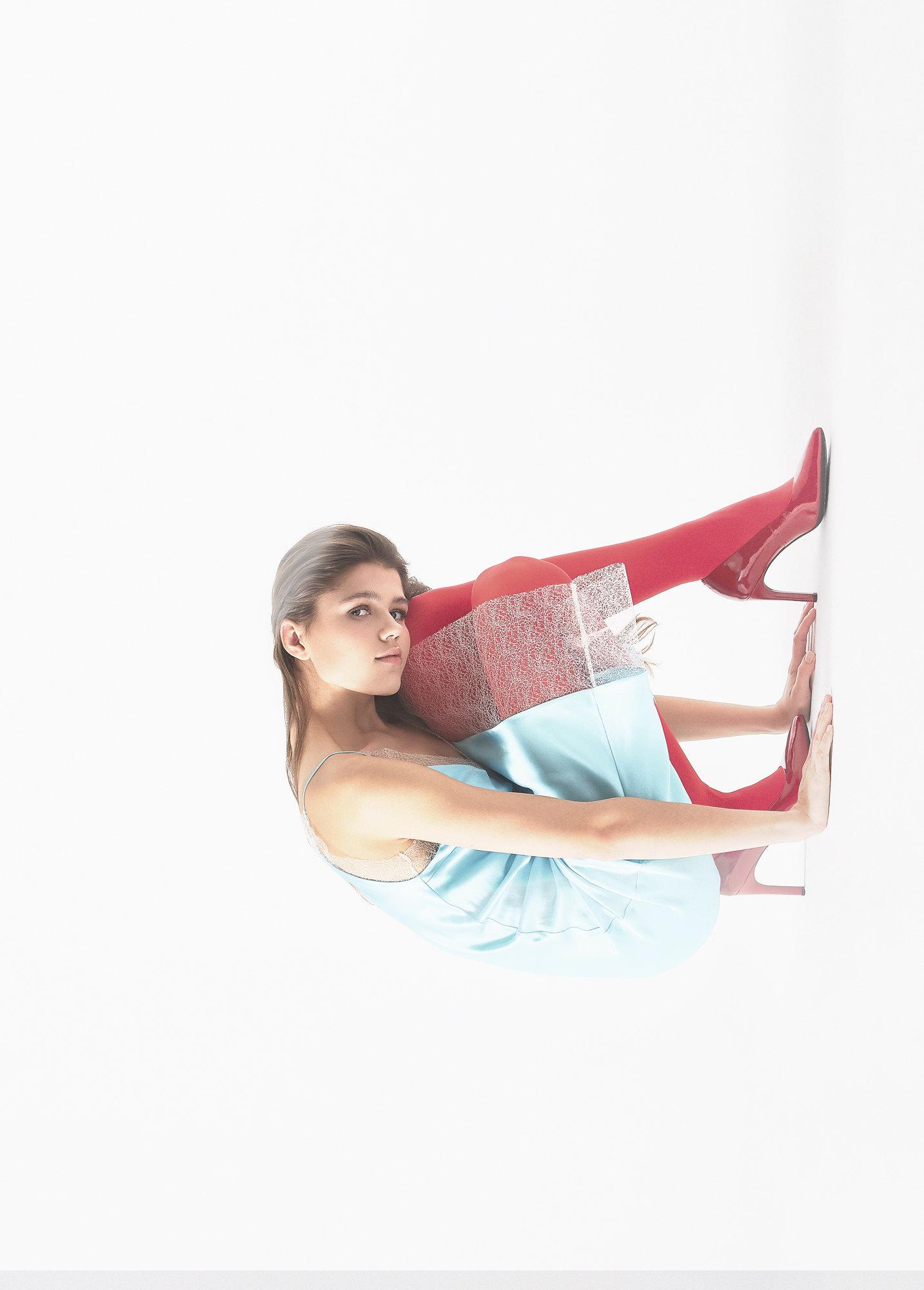 Комбинация WOS by Andrey Artyomov; колготки Falke; туфли Geox