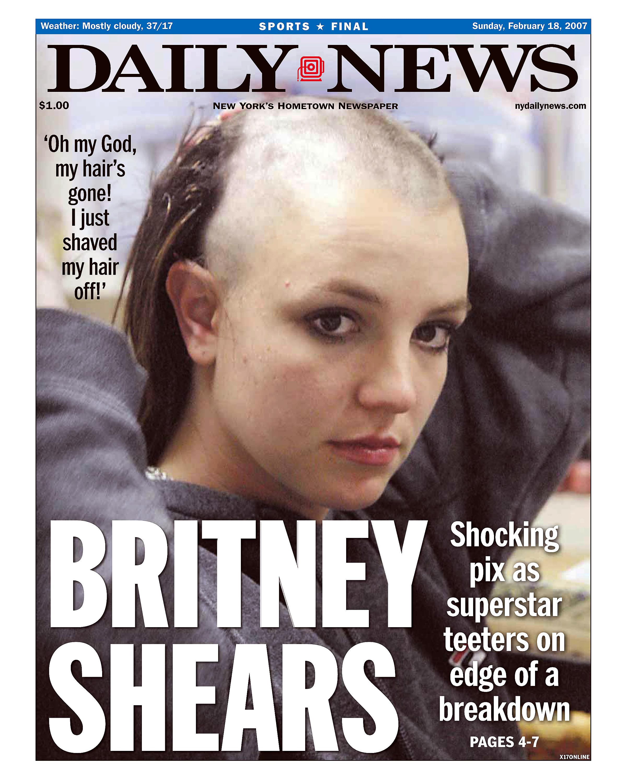 Бритни Спирс побрилась налысо фото