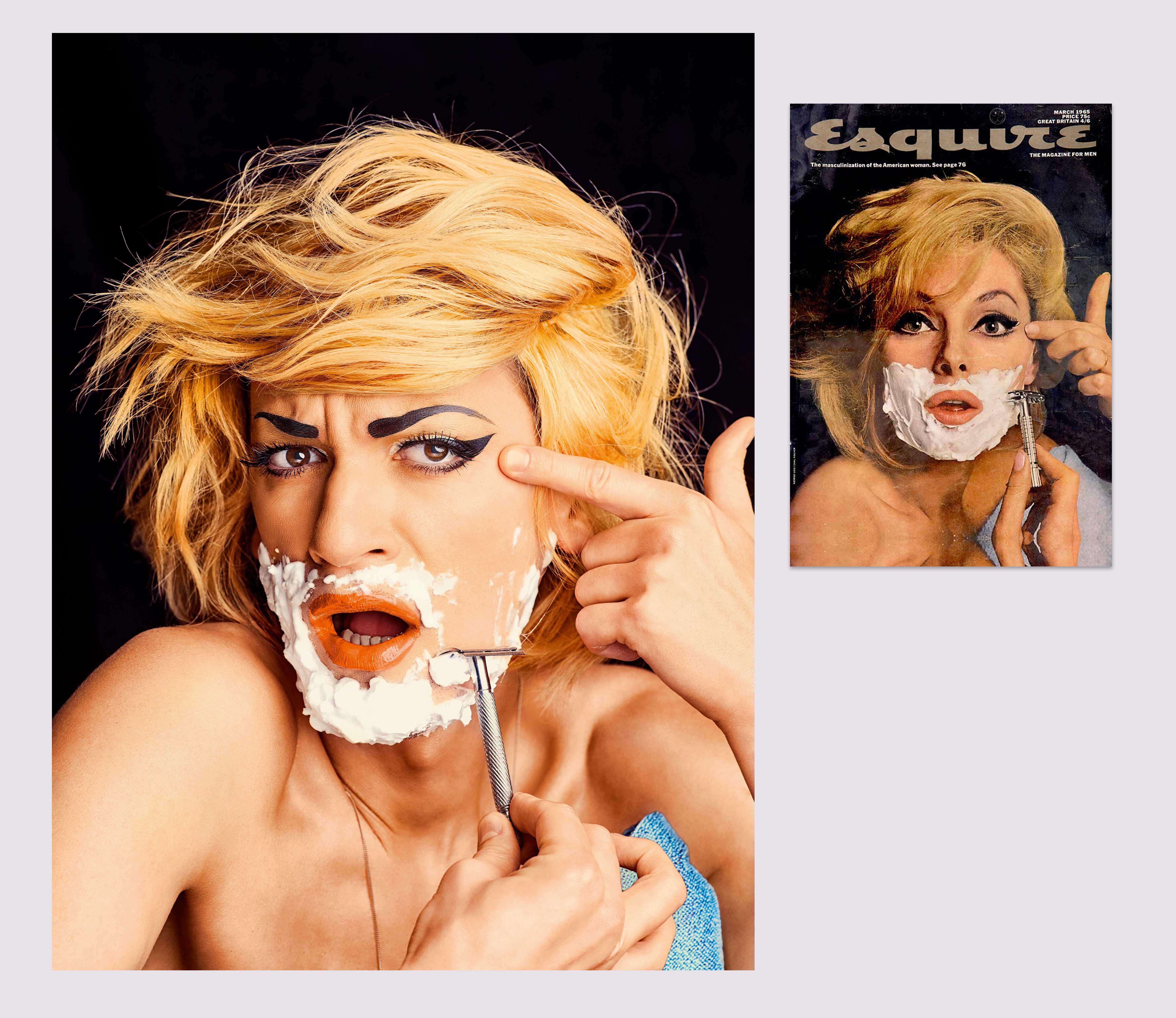 1965 год Иллюстрация мартовской обложки иглавного материала номера «Маскулинизация американской женщины».