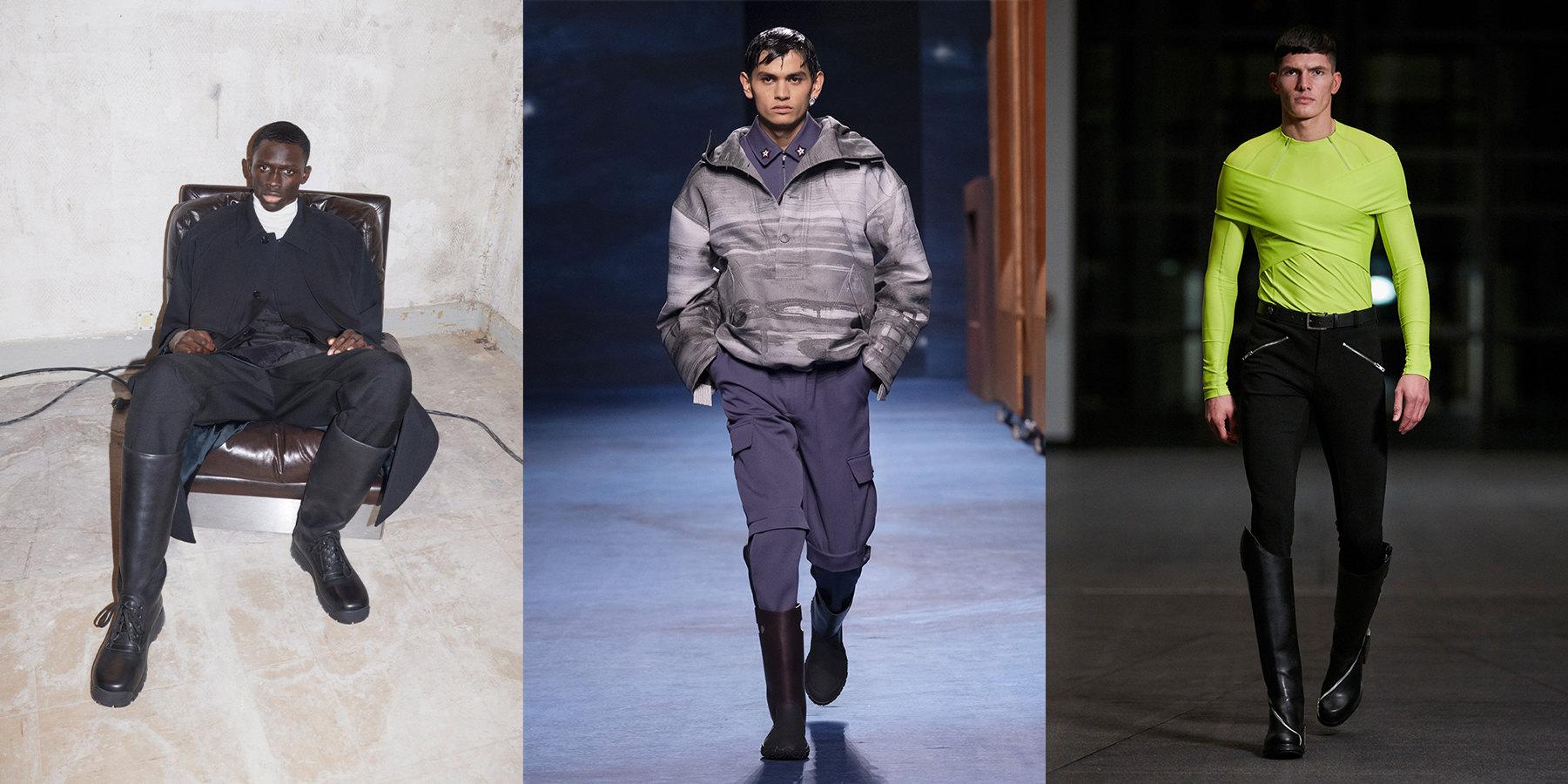 Jil Sander, Dior, GMBH осень-зима 2021