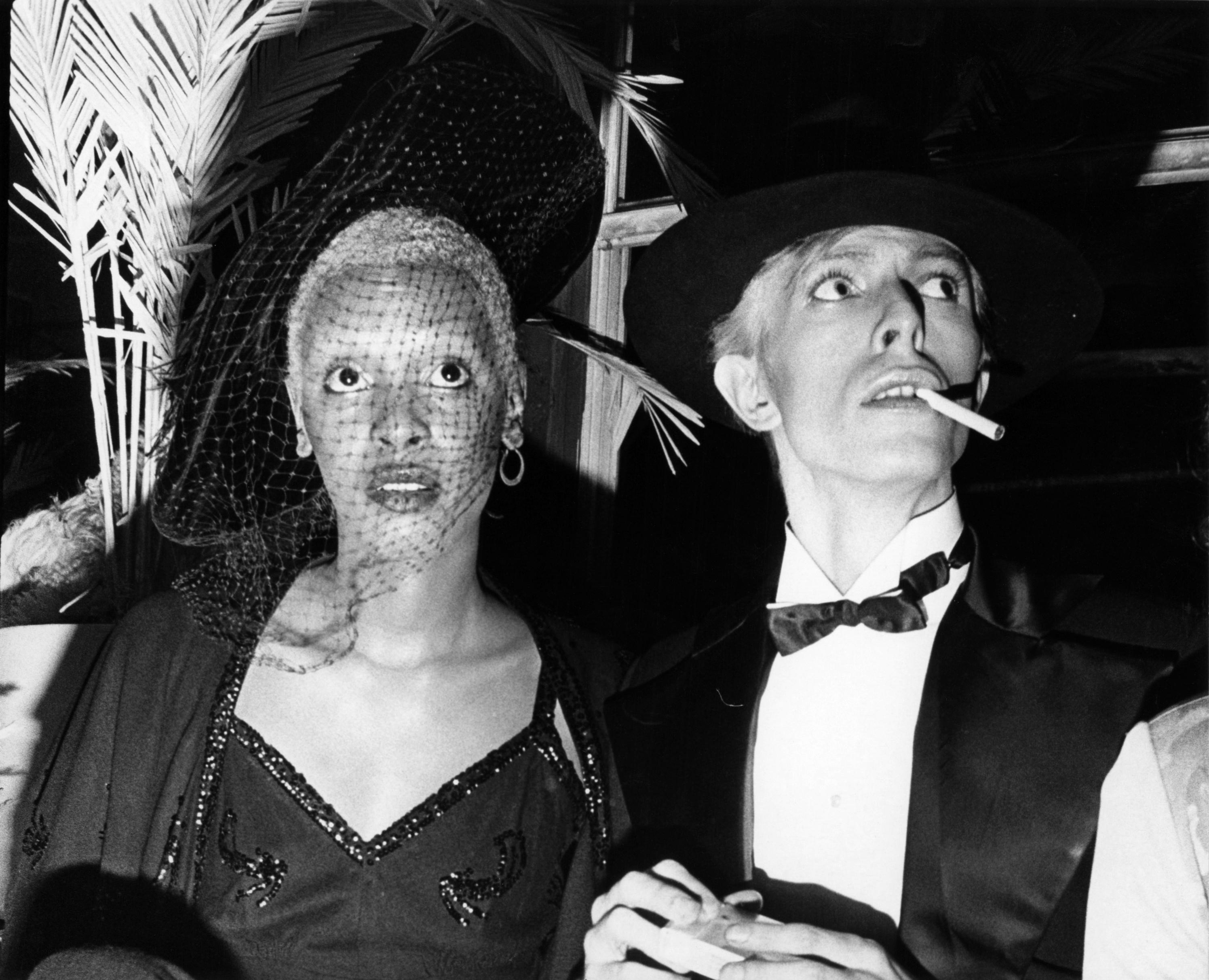 Ава Черри иДэвид Боуи наснимке Билла Каннингема, 1975