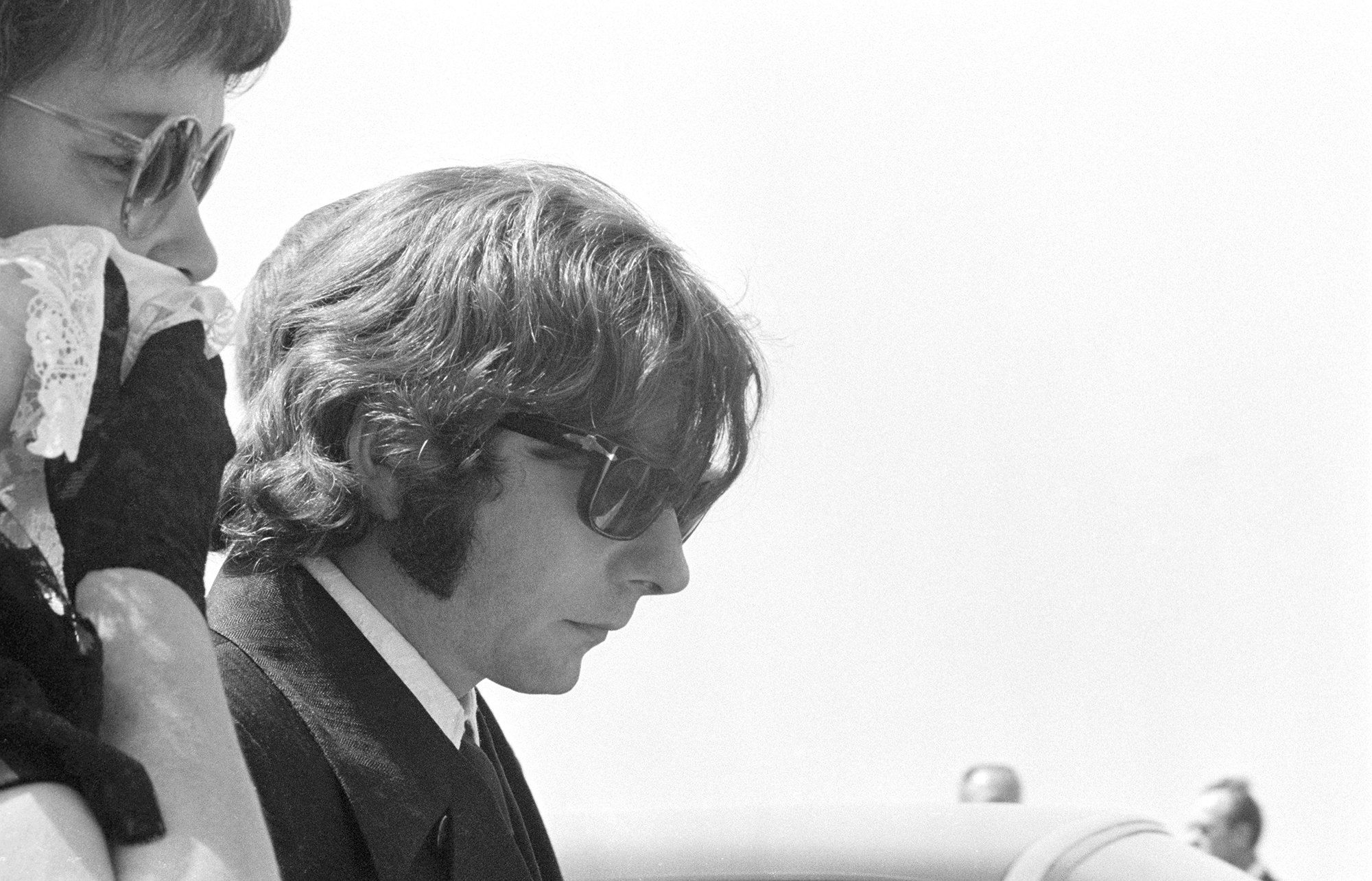 Роман Полански напохоронах Шэрон Тейт, 1969 год