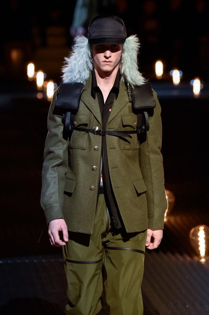 Prada menswear, осень-зима 2019