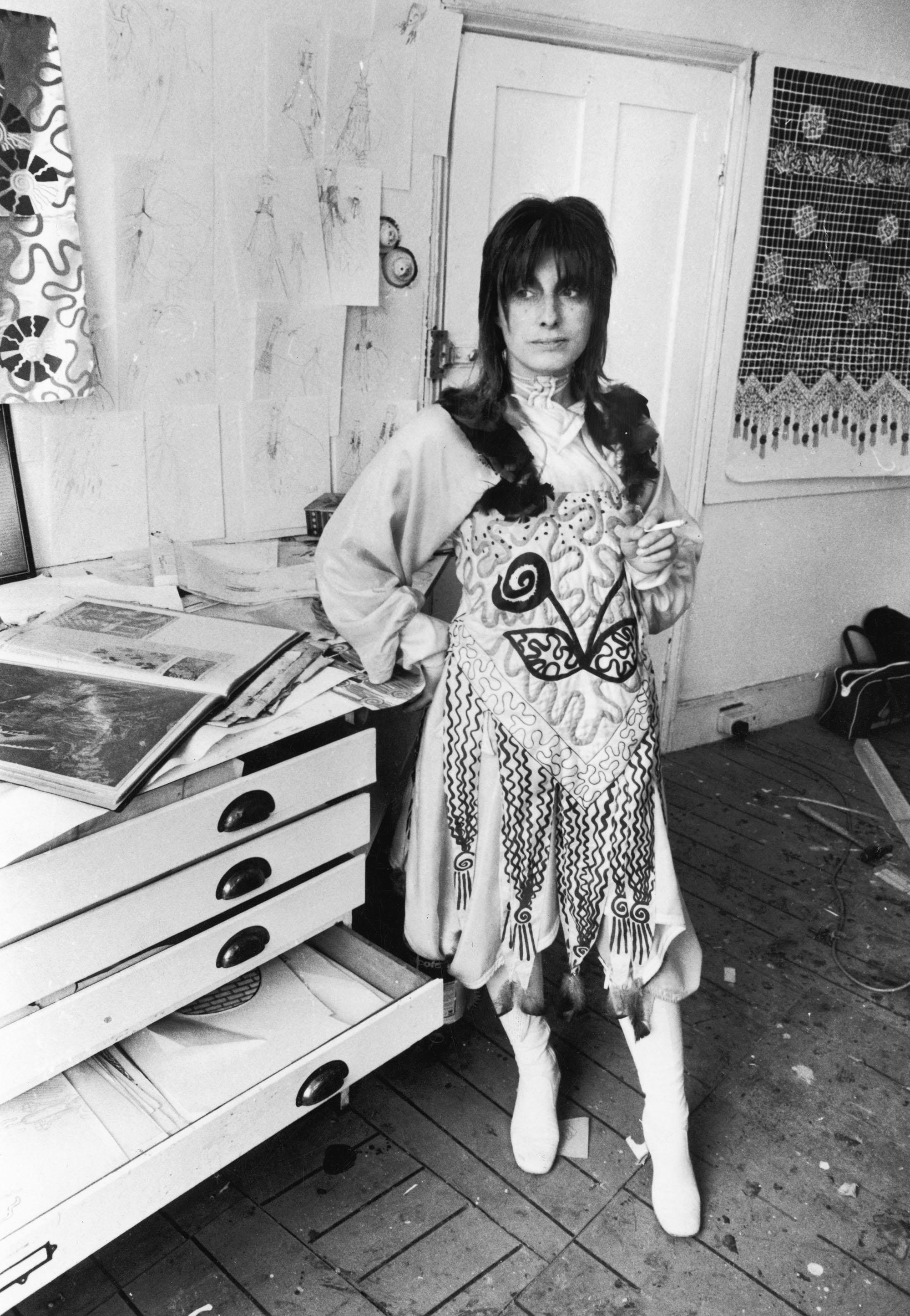 Зандра Роудс, 1970