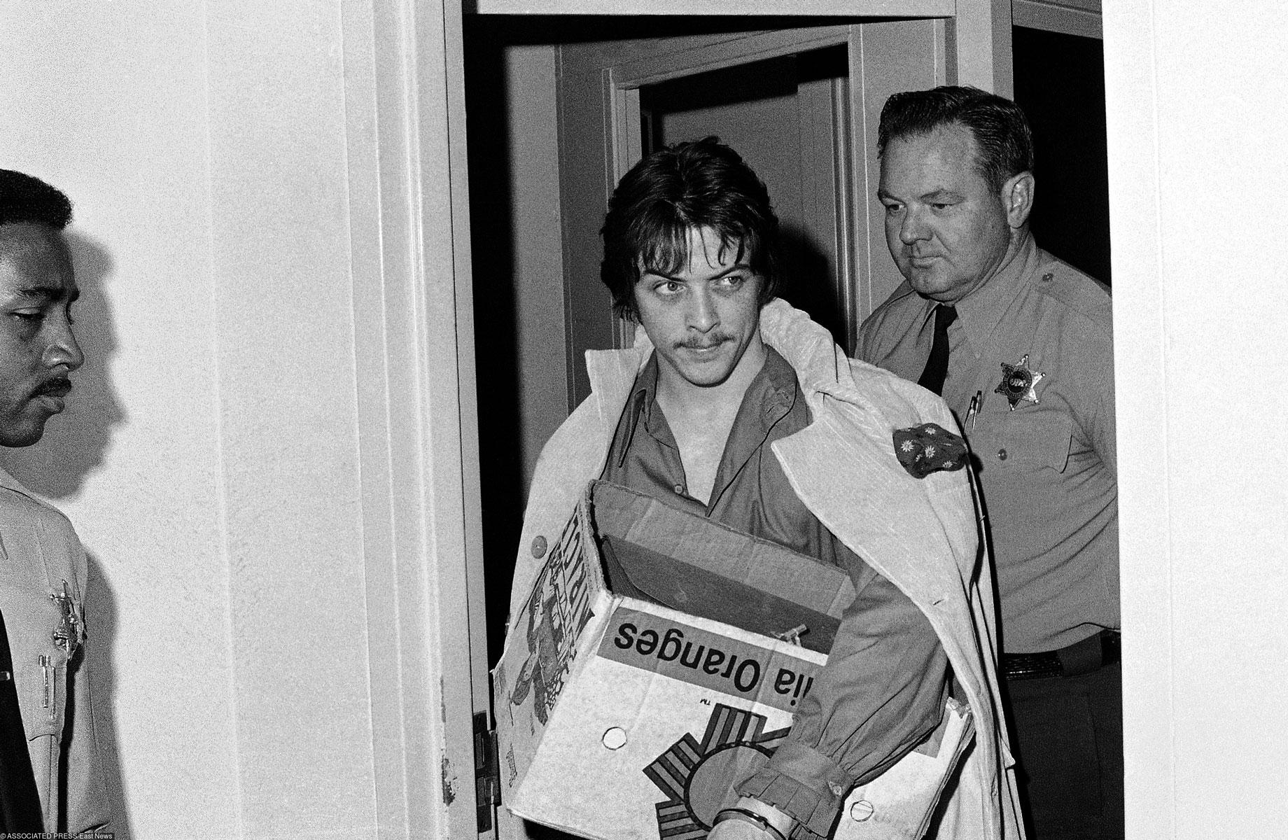 Бобби Босолей всуде Лос-Анджелеса в1970-м году. Ему вынесли смертный приговор