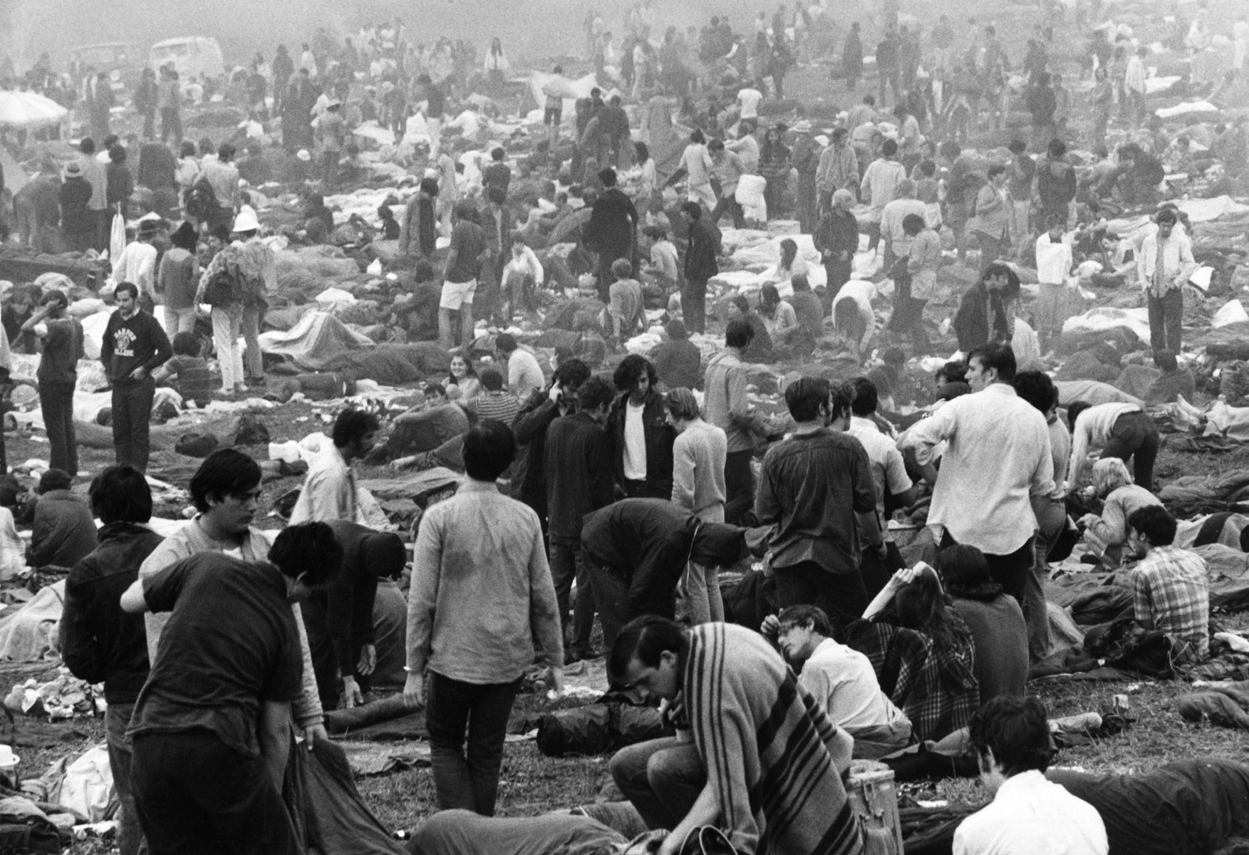 The Woodstock Music and Art Festival, a famous rock festival held at a dairy farm in Bethel, New York on August 15-17, 1969. Фото: East News