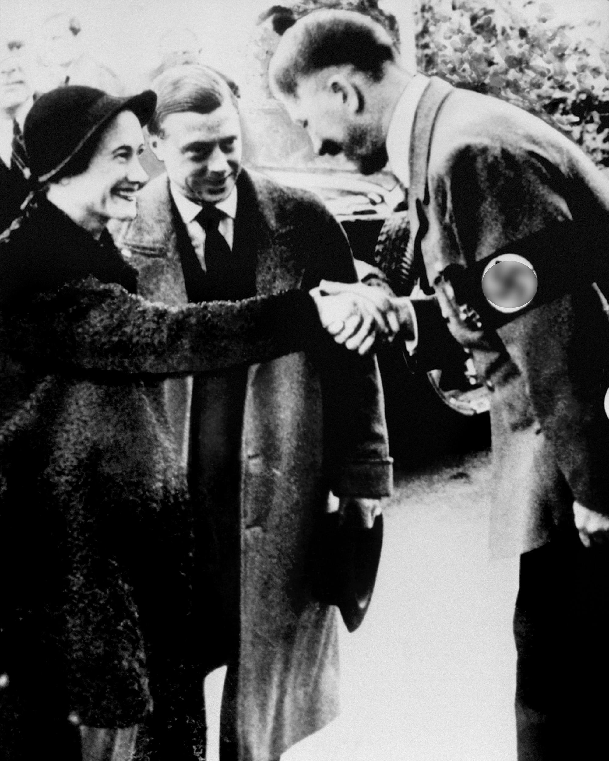 Герцог игерцогиня виндзорские навстрече сАдольфом Гитлером