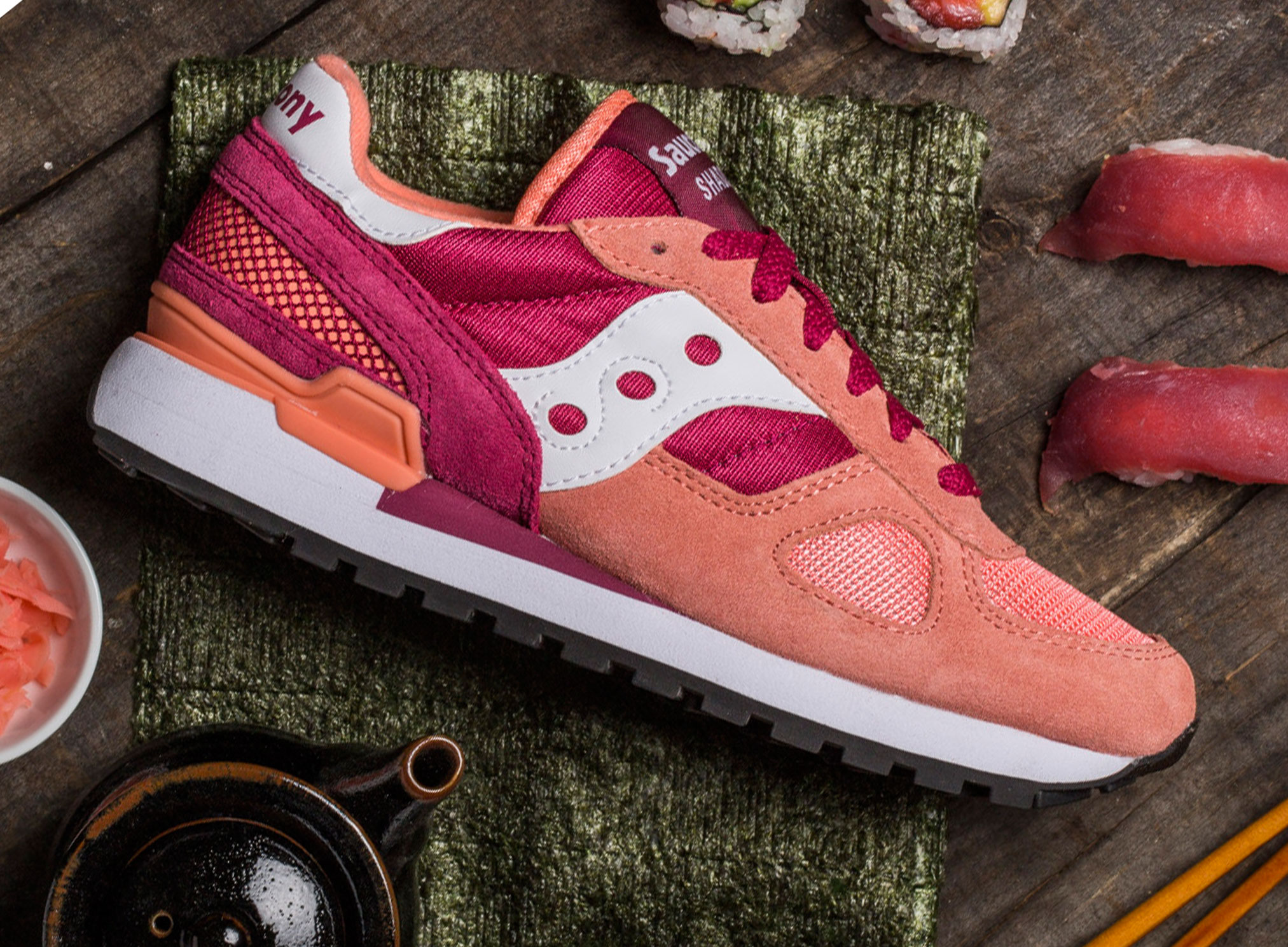 Saucony Shadow 5000 Sushi Pack