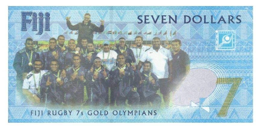 7 долларов (Фиджи)