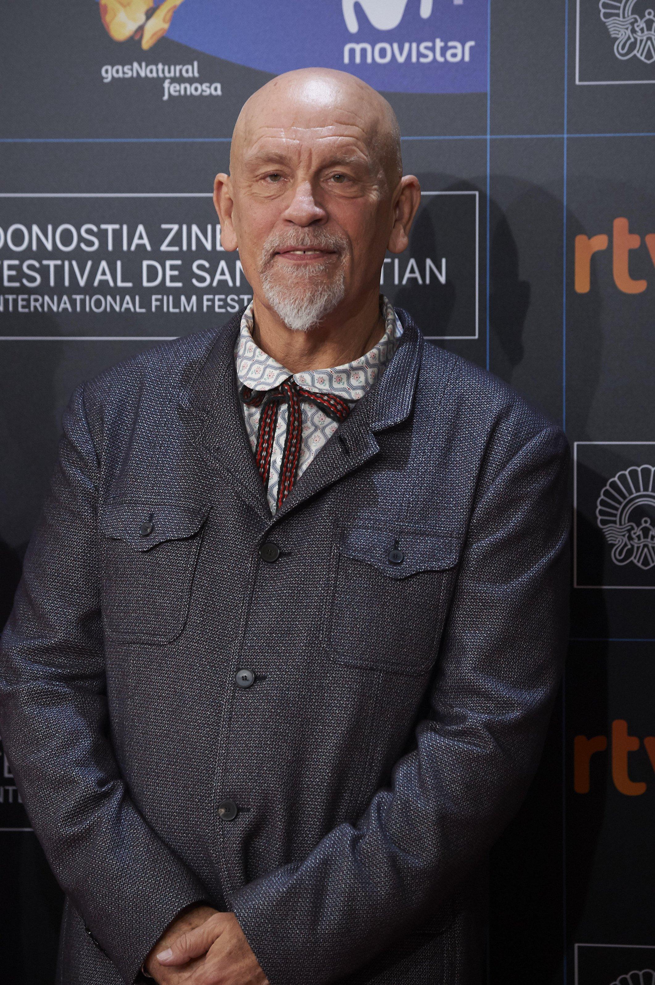 San Sebastian, Euskadi, Spain. 22nd Sep, 2017. John Malkovich 'Submergence' Premiere During 65th San Sebastian Film Festival On September 22, 2017 In San Sebastian, Spain. Credit: