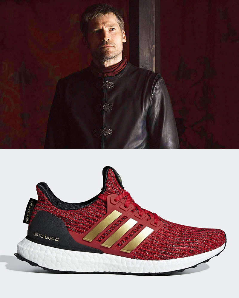 "Джейме Ланнистер и adidas Ultra Boost ""House Lannister"""