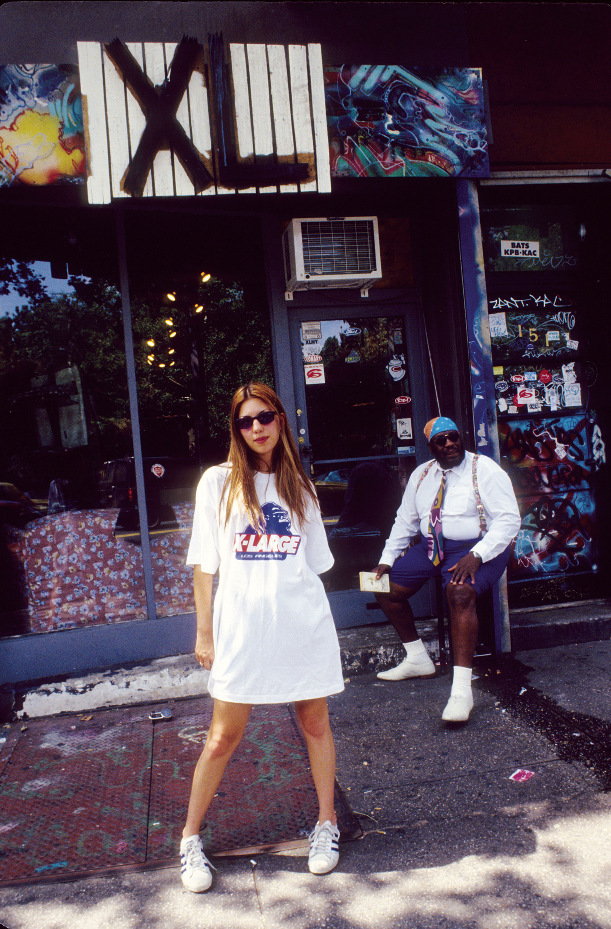 София Коппола вкроссовках adidas, 1993 год.