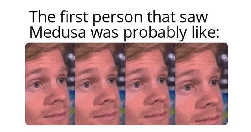 Первый парень, который посмотрел наМедузу