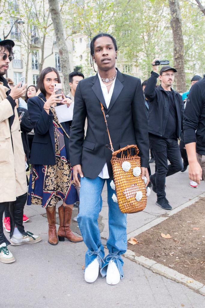 A$AP Rocky нанеделе моды вПариже