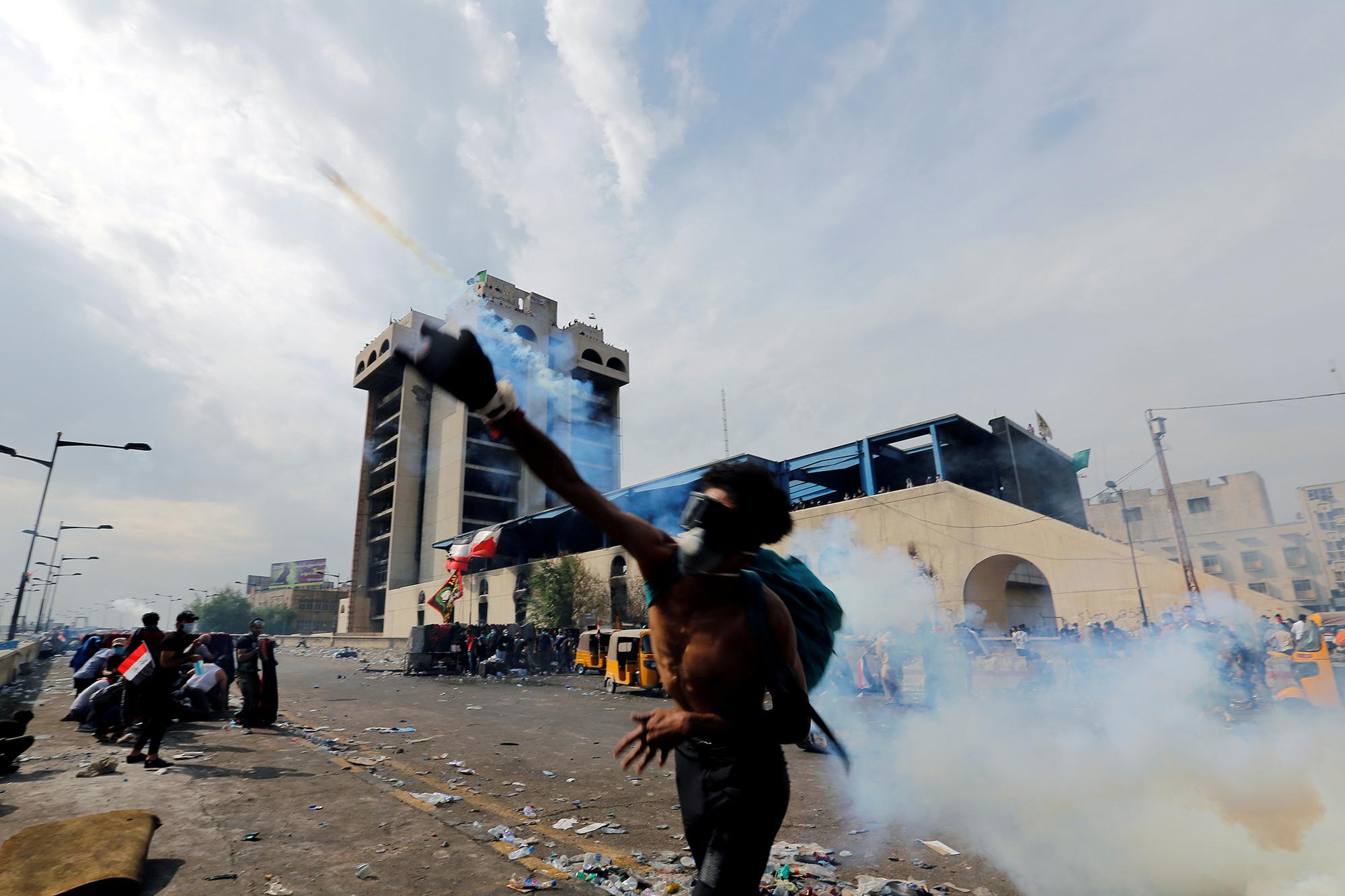 Протесты вБагдаде