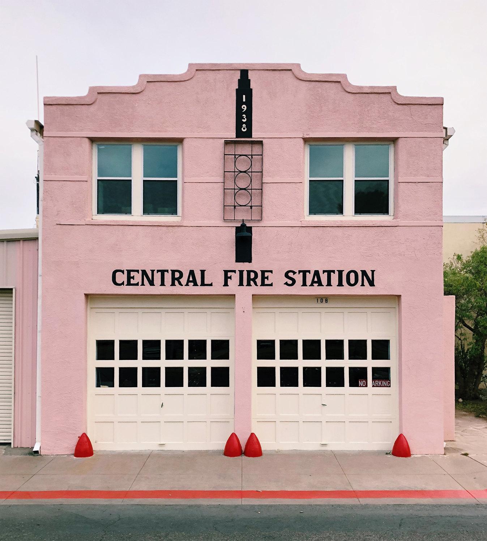 Пожарная часть вТехасе, США