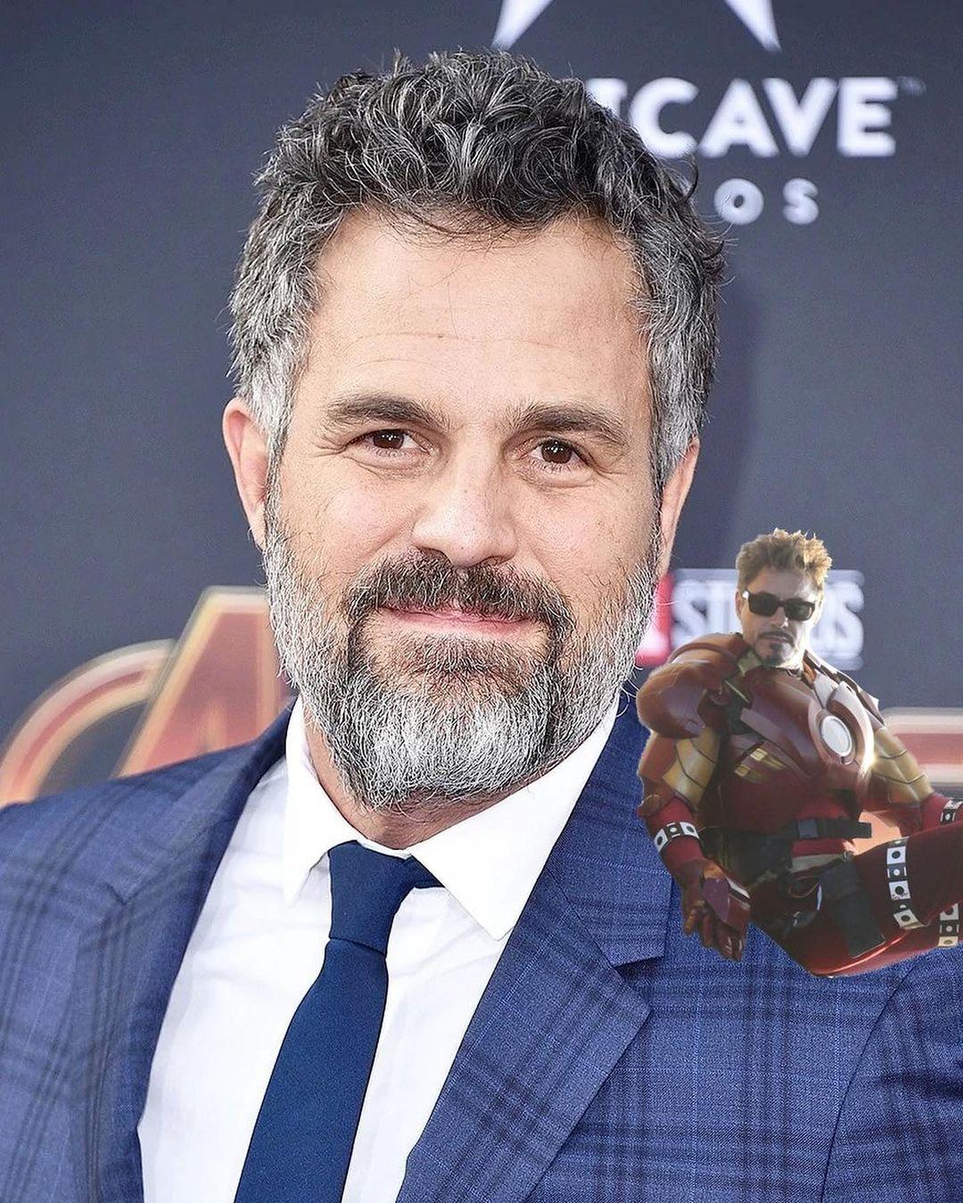 Stark on Mark: Тони Старк наплече уМарка Руффало