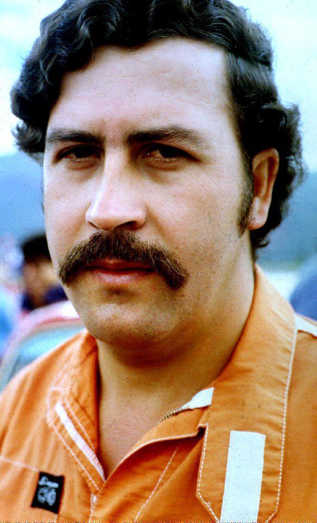 Глава медельинского наркокартеля Пабло Эскобар.
