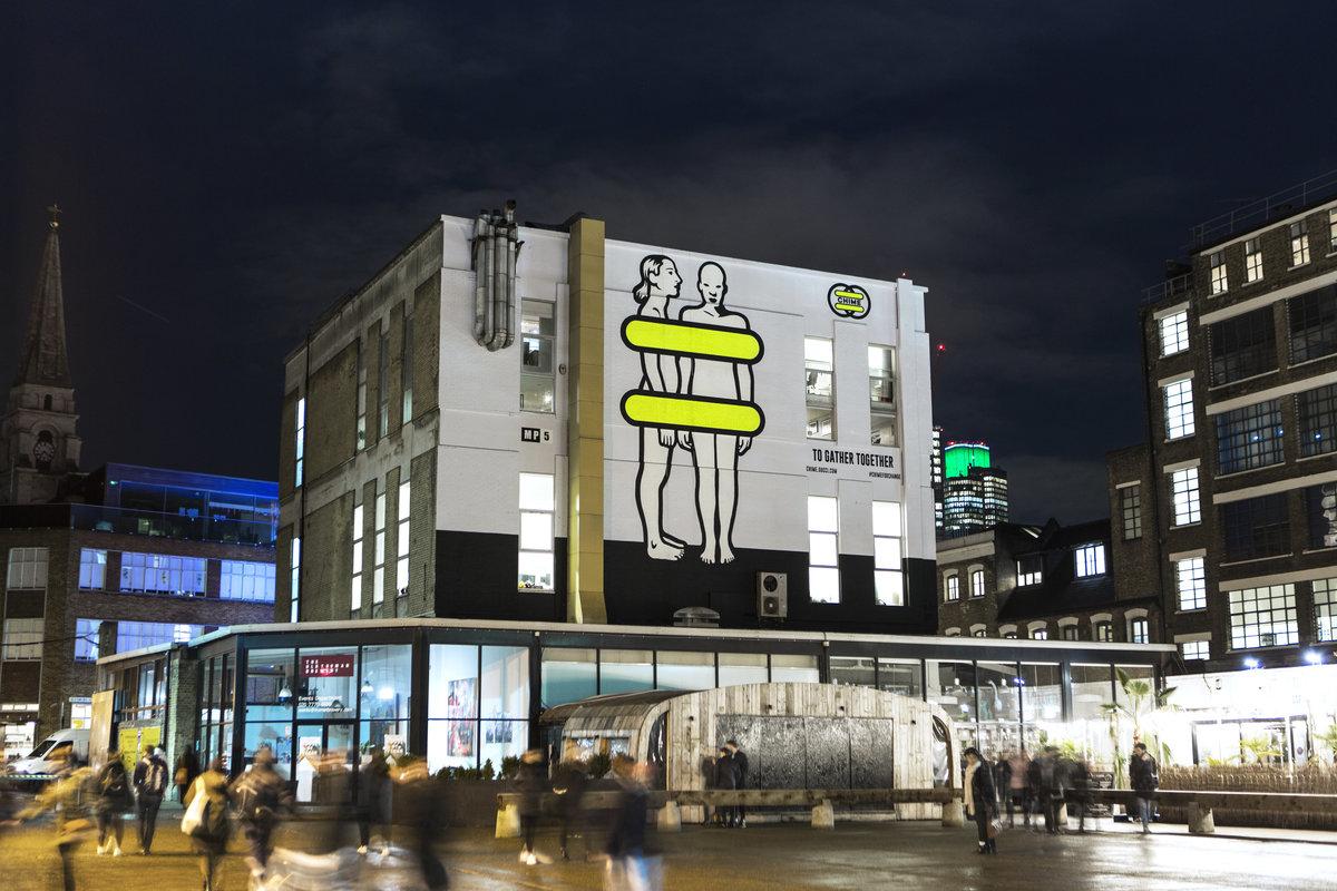 Gucci ArtWall, Лондон