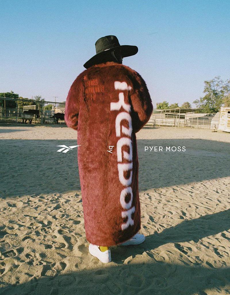 Reebok by Pyer Moss осень-зима 2018