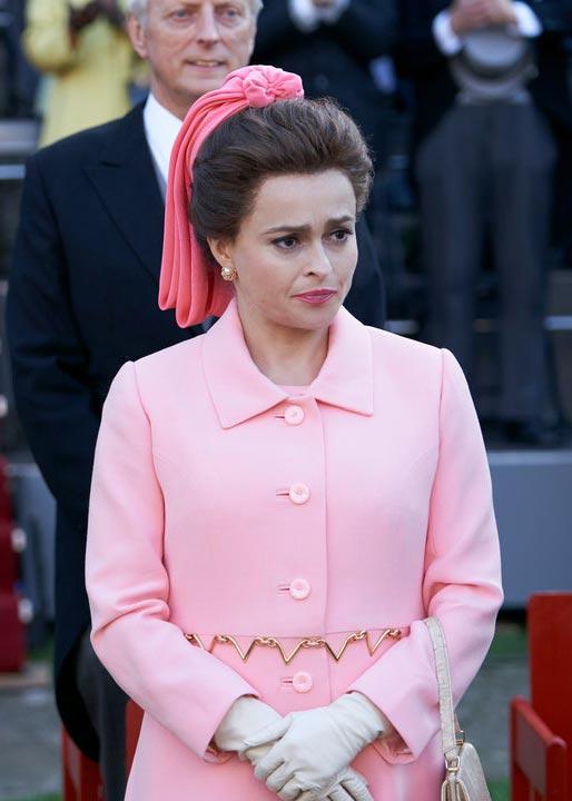 Хелена Бонэм Картер вобразе принцессы Маргарет