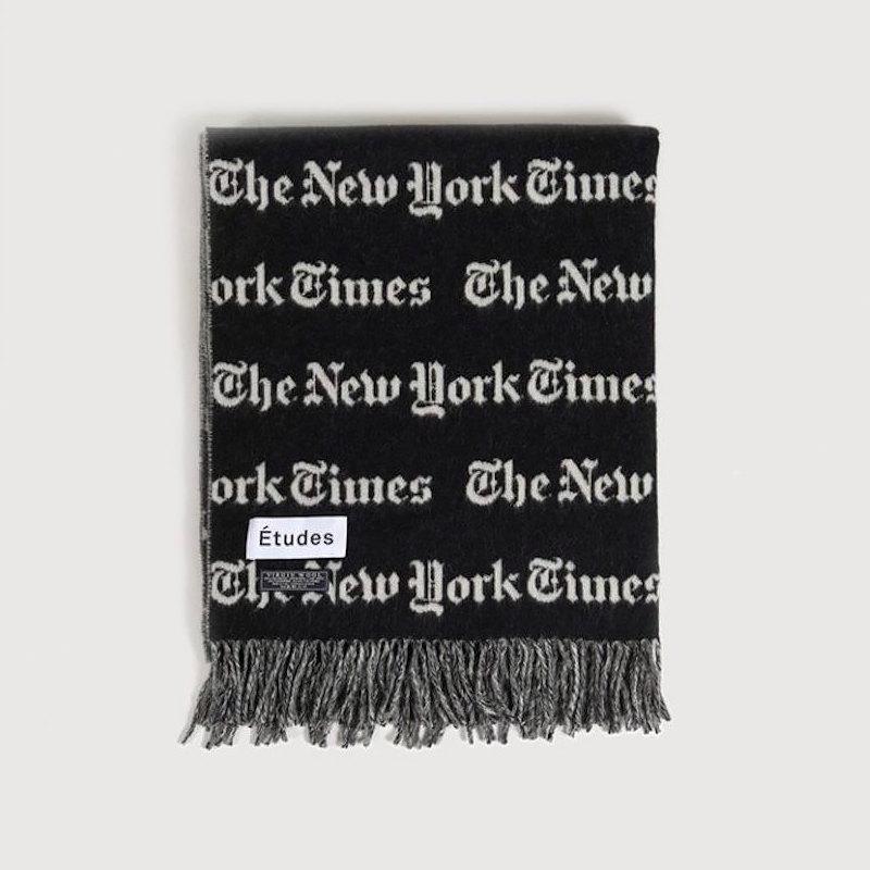 Шарф Études x New York Times, 13 834 рубля