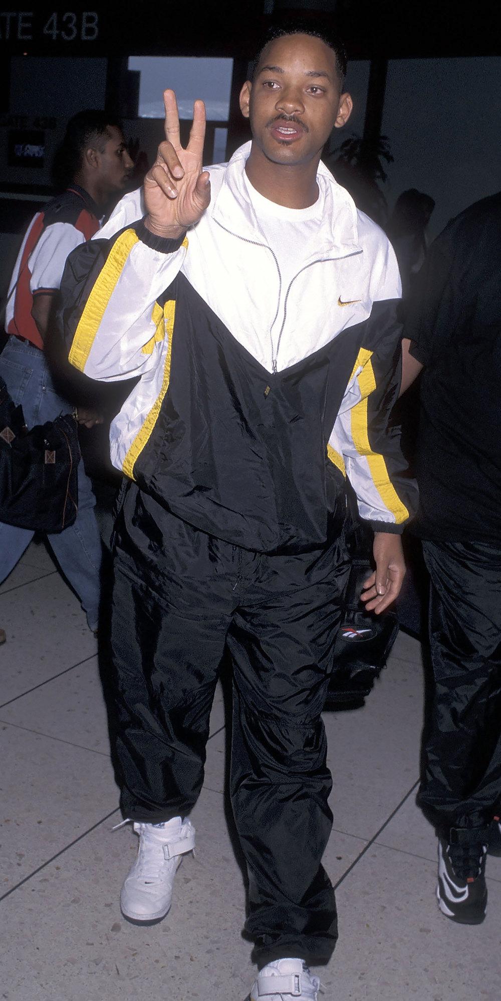 Уилл Смит ваэропорту Лос-Анджелеса, июнь 1996
