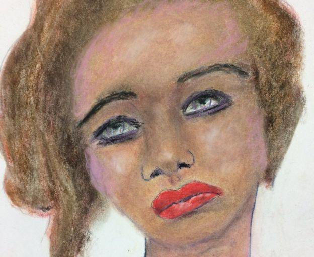 Белая женщина 23-25 лет, убита в1996 году