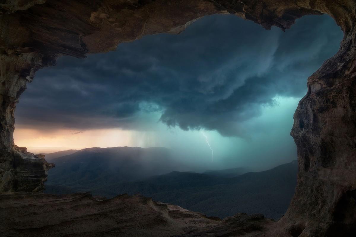 Lincoln's Rock, Национальный парк Блю-Маунтинз, Новый Южный Уэльс, Австралия
