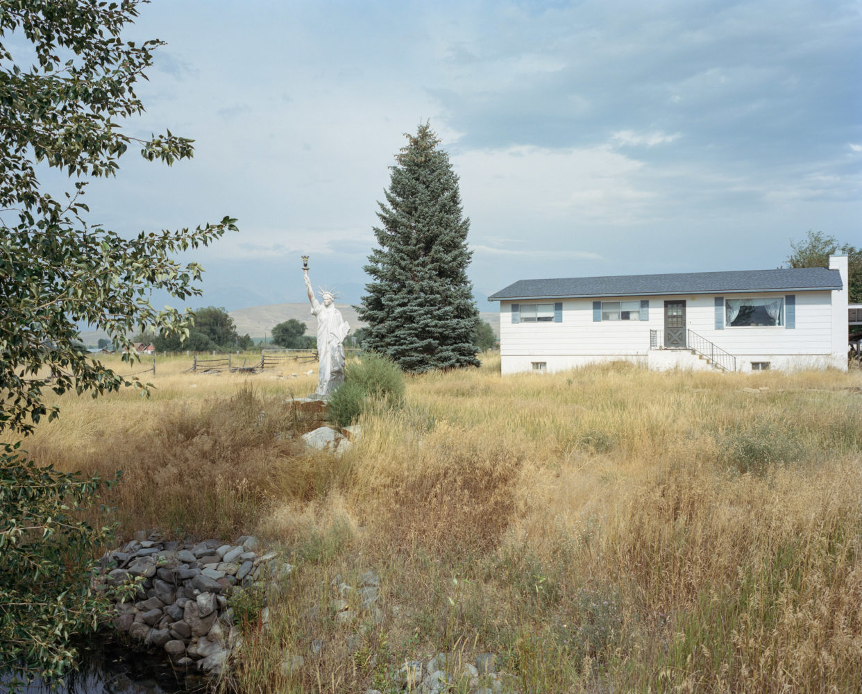 Статуя свободы, Салмон, штат Айдахо