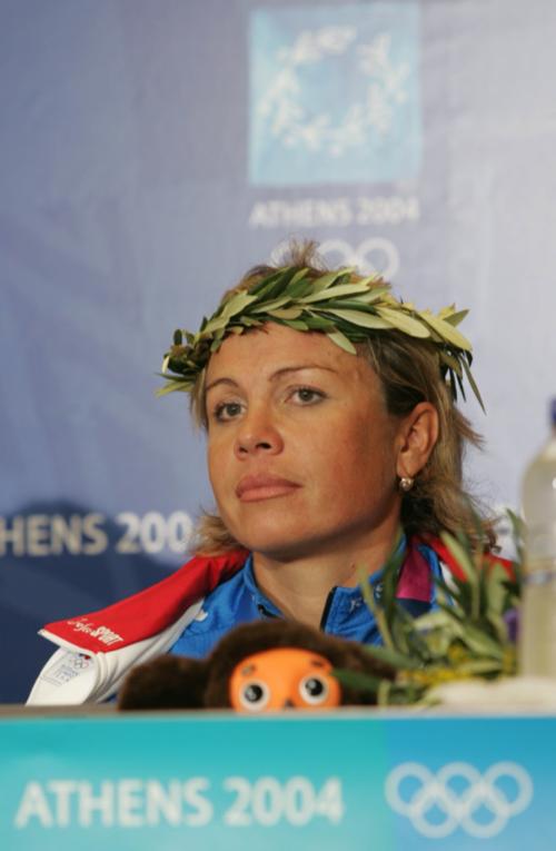 Олимпиада. Афины. 15 августа 2004 года. Ольга Слюсарева.