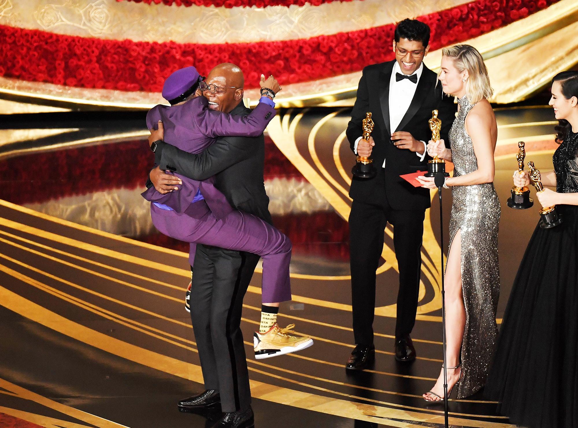 Спайк Ли получает «Оскар»