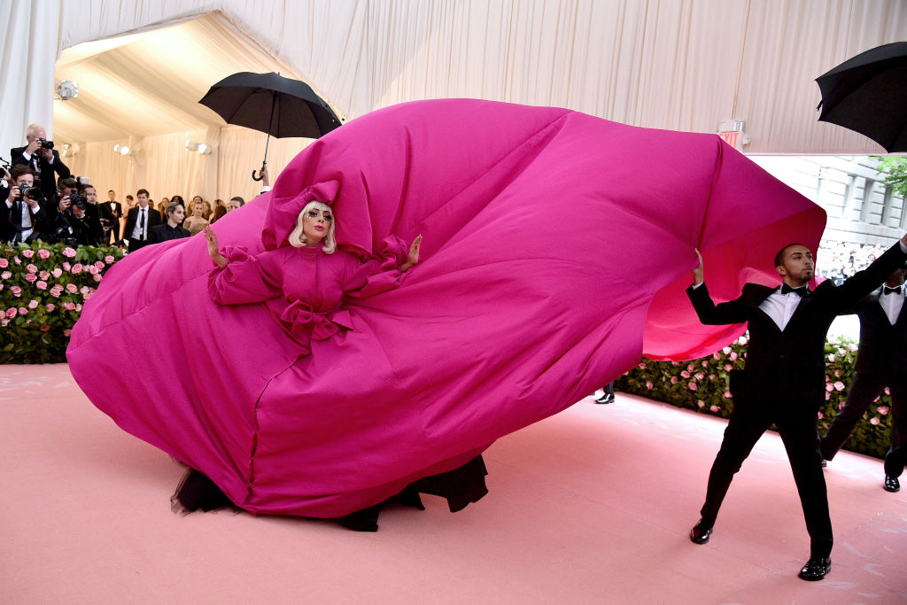 Леди Гага вBrandon Maxwell
