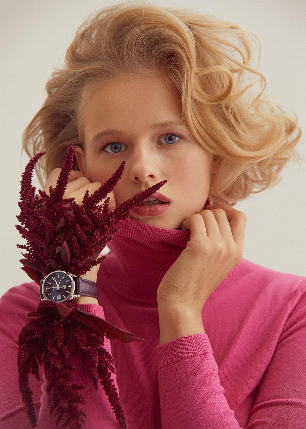 Водолазка Boss;часы TAG Heuer Carrera Lady