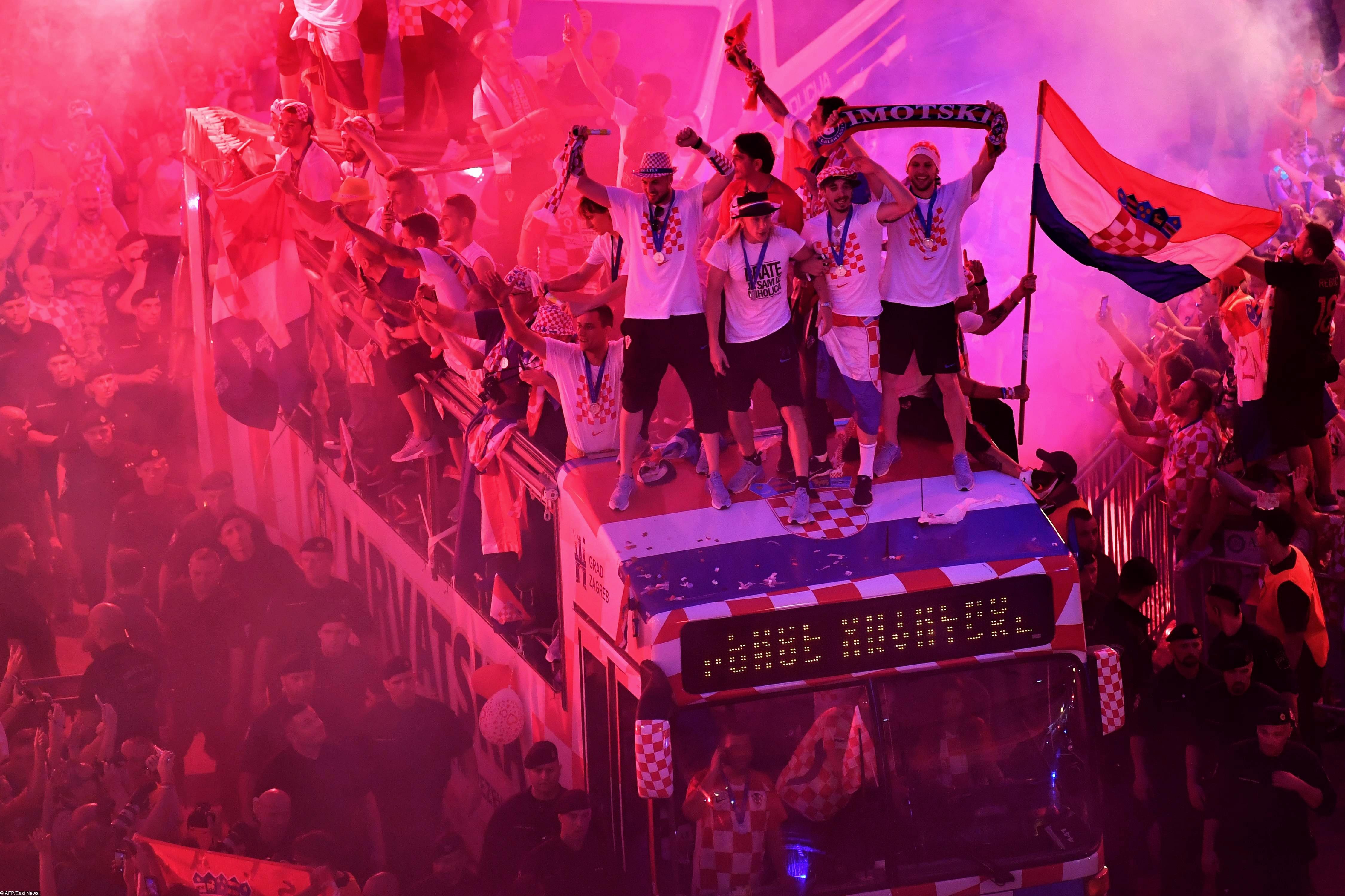 Хорватия встречает свою команду